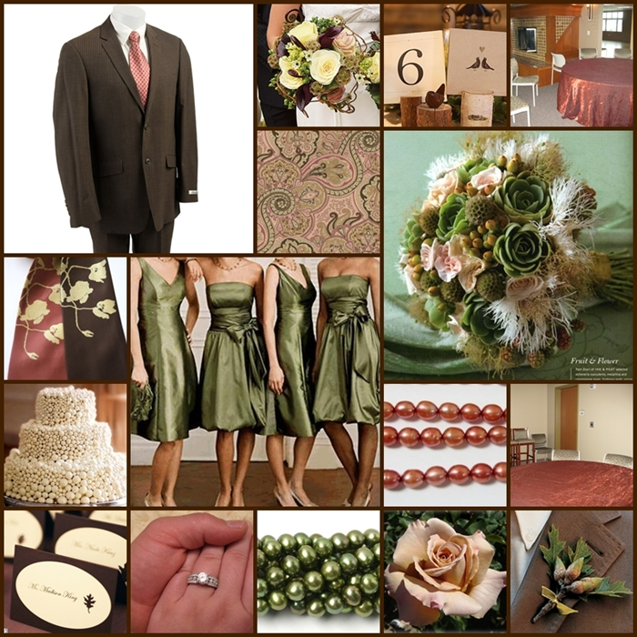 Autumn Wedding Color Palette Confusion!! Too many colors?