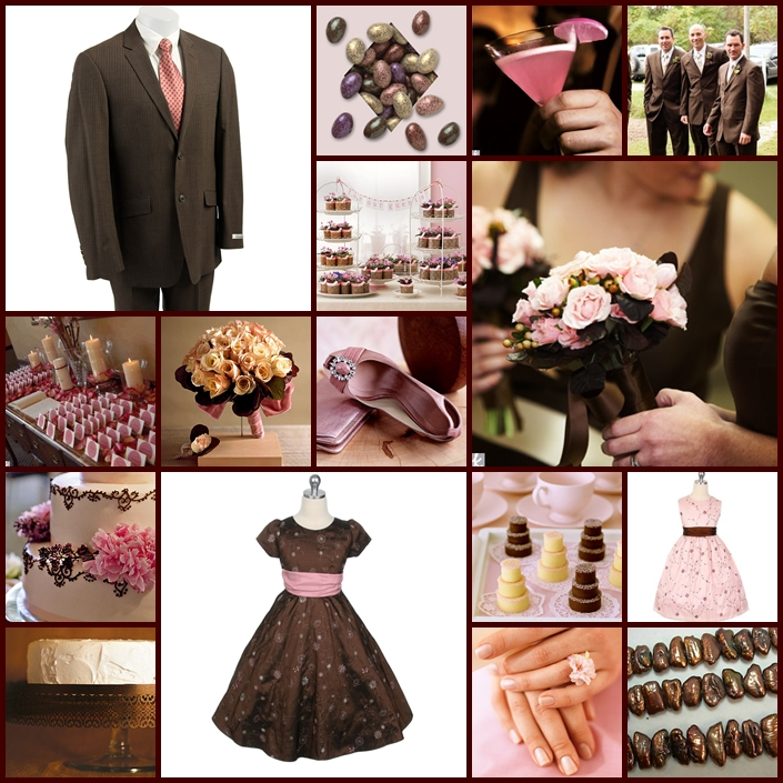 Keen To Be Seen: Pink and Chocolate Brown