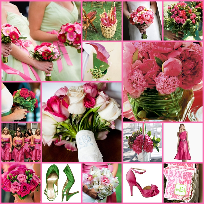 Pink Wedding Reception Ideas