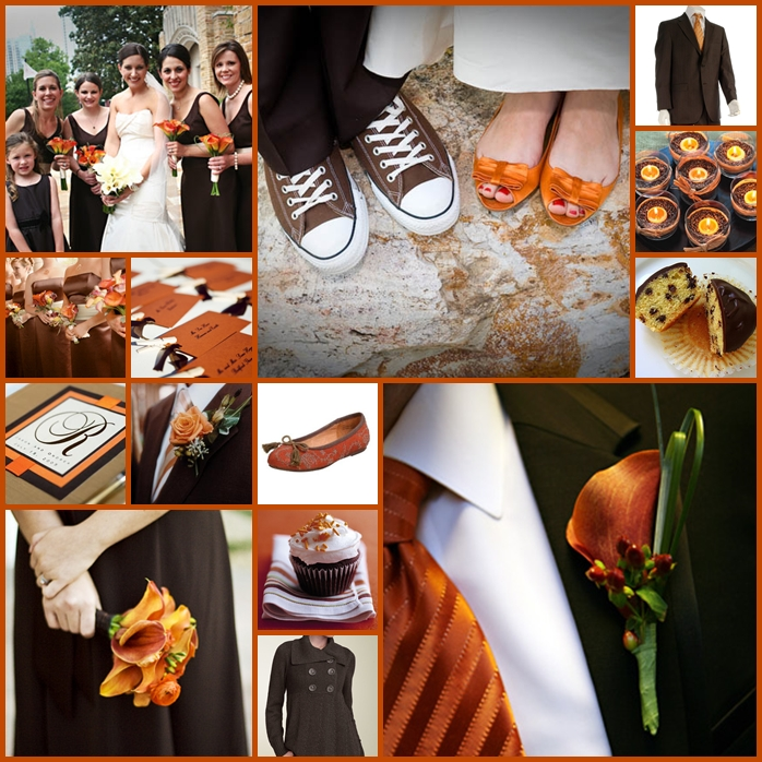 Keen To Be Seen: Burnt Orange and Brown (by special request)