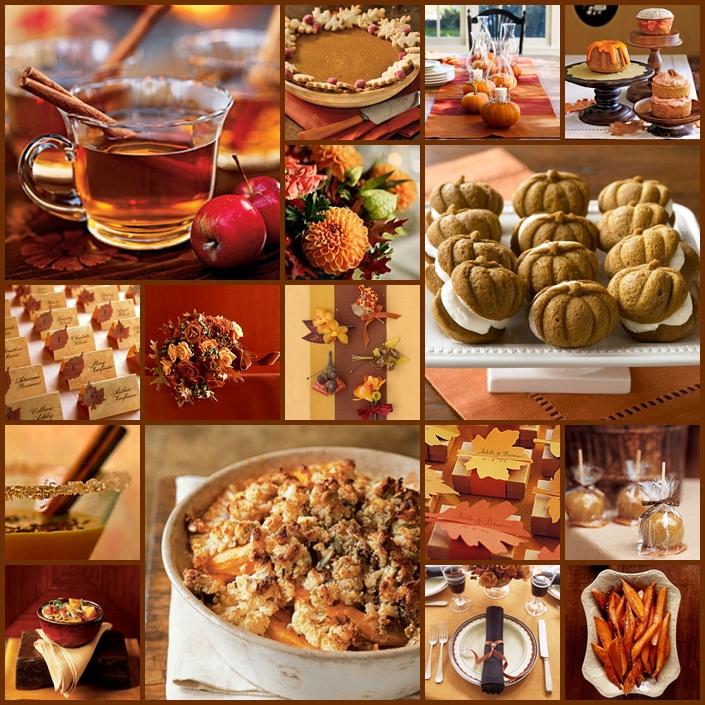 Keen To Be Seen: Apple, Pumpkin and Cinnamon Spice Autumn Wedding Theme